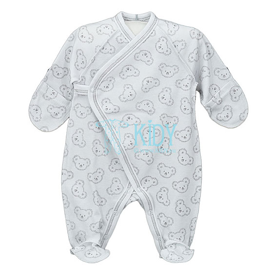 White KOALA sleepsuit