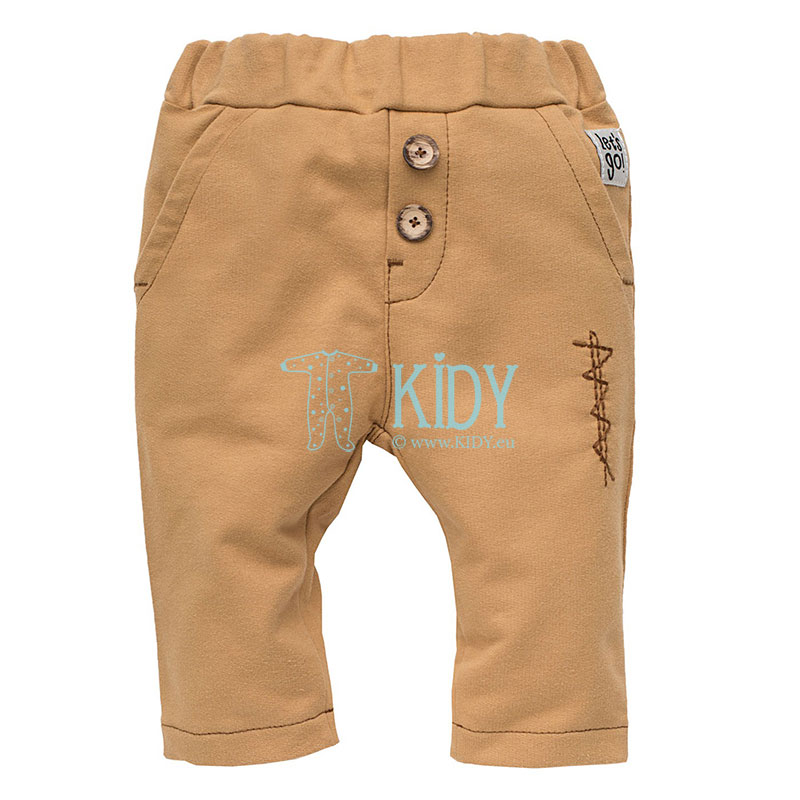 Beige OLD CARS pants