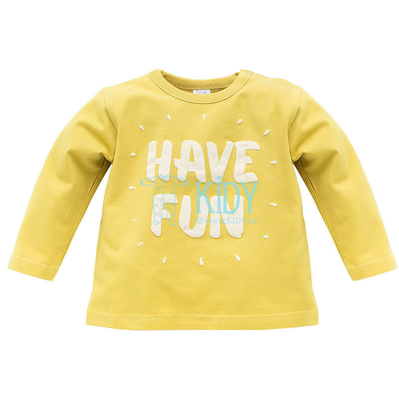 Lemon FUNNY DOG top
