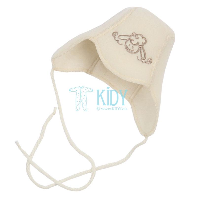Balta kepurė FLOKATI