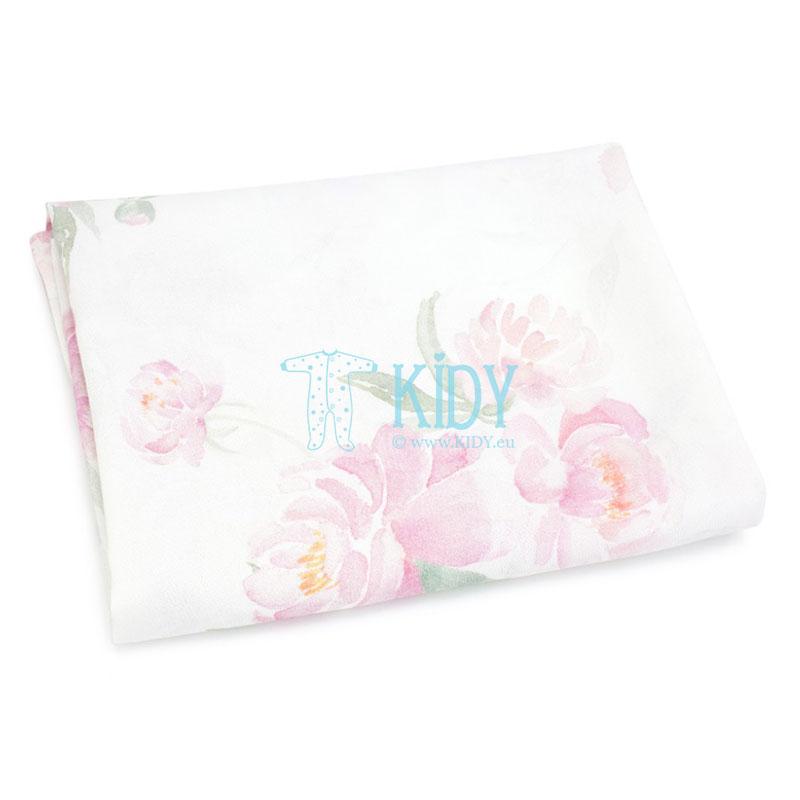 Розовая пеленка Peonie