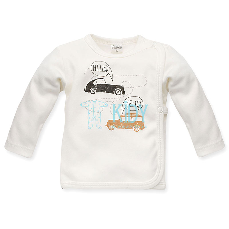 Ecru OLD CARS easy-shirt (Pinokio)