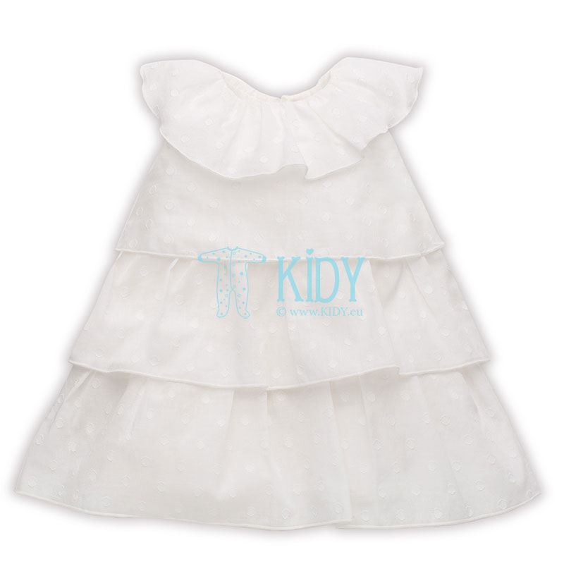 Ecru PRINCESS sleeveless dress