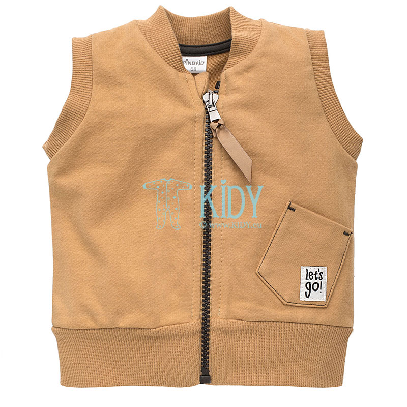 Beige OLD CARS vest