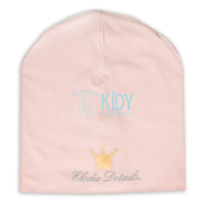 Rožinė beanie kepurė POWDER PINK