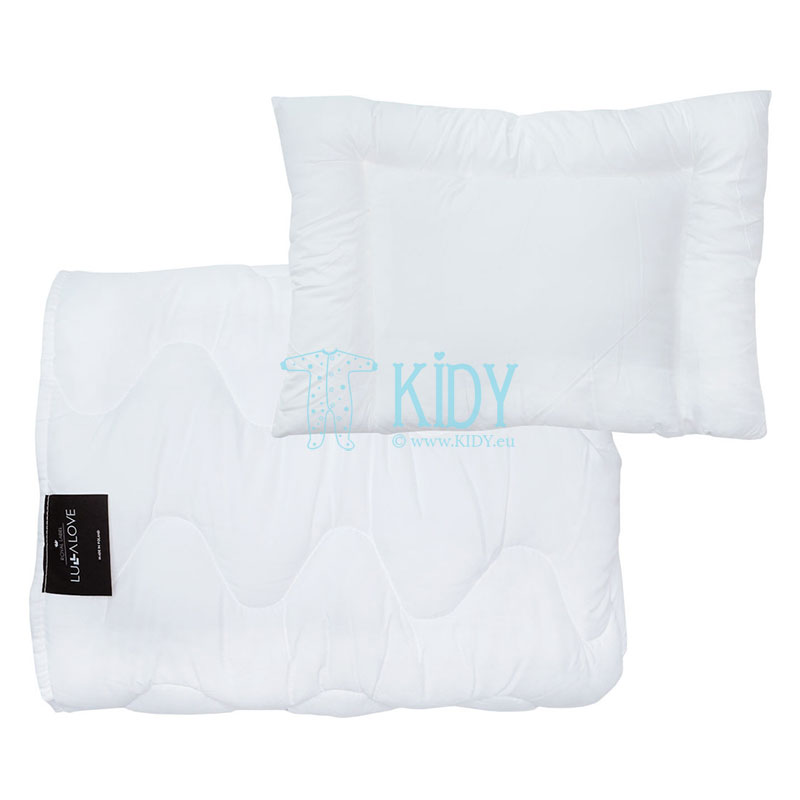 Bedding set: duvlet + pillow (Lullalove)