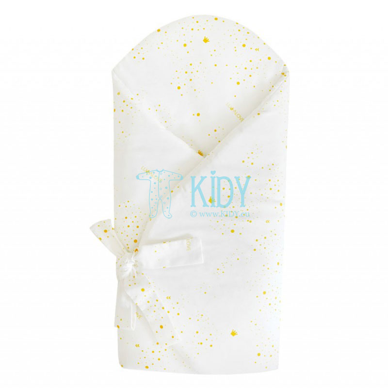 White ROYAL BABY envelope