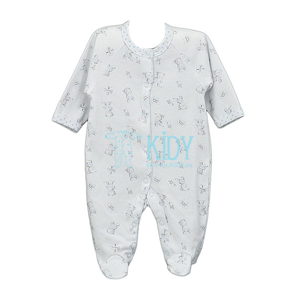 White TOTO sleepsuit