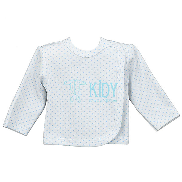 White TOTO easy-shirt with mitts (Lorita)