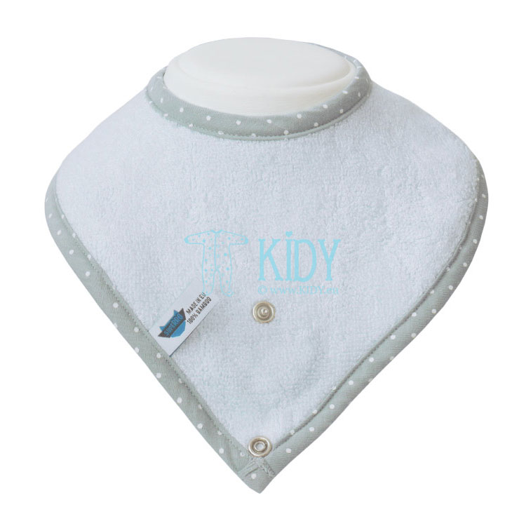 Blue bamboo supeRRO bib
