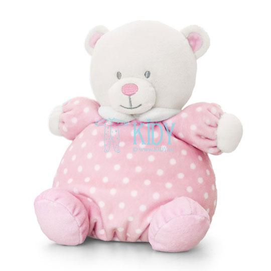 Rožinis meškiukas PUFFBALL BEAR