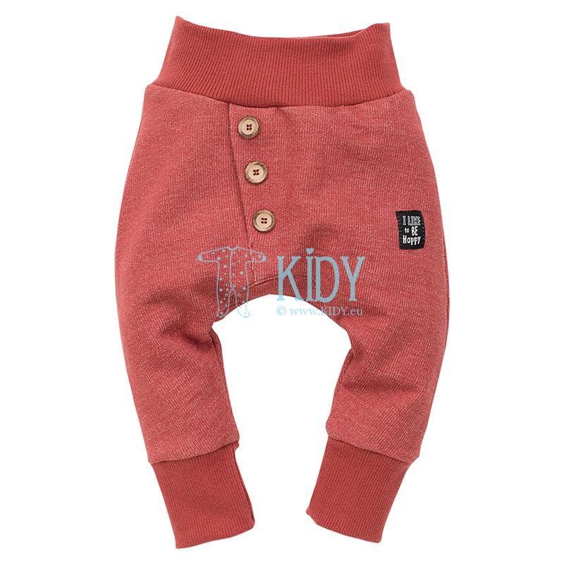 Красные штаны HAPPY LLAMA (Pinokio)