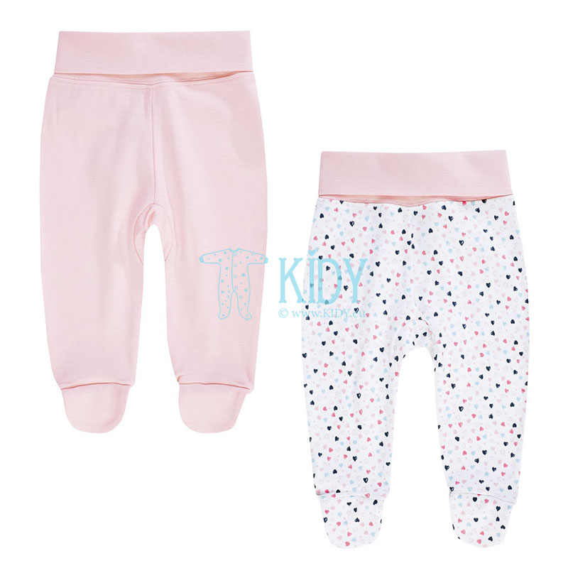 2pcs MY PRINCESS footed pants set