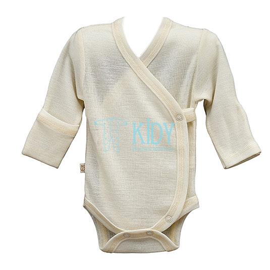Creamy merino wool LAMB bodysuit