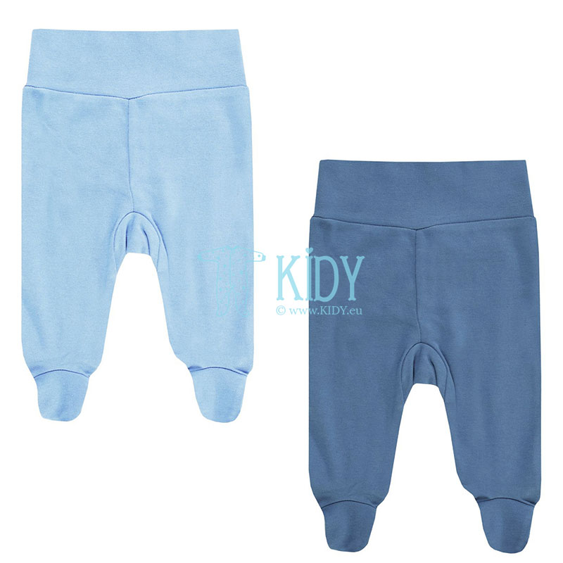2pcs LITTLE ADVENTURER footed pants set