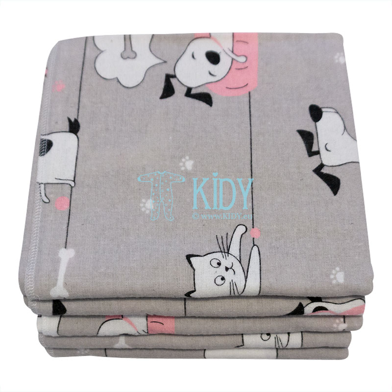 Warm KITTENS & PUPPIES wrap