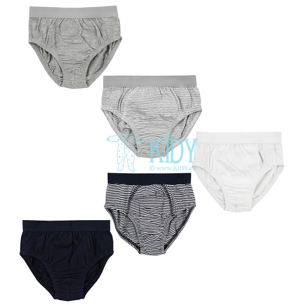 5pcs BOYS panties pack