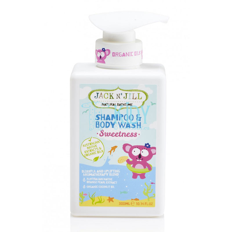 Natural SWEETNESS shampoo & body wash