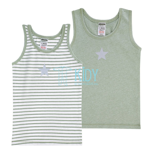 2pcs BOYS vest underwear pack