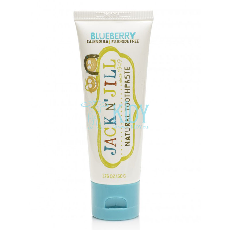 Natural Calendula Toothpaste Blueberry Flavour