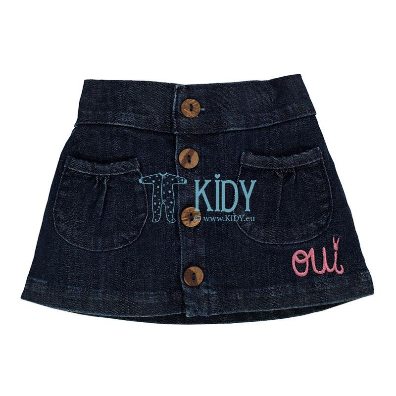 Navy COLETTE skirt