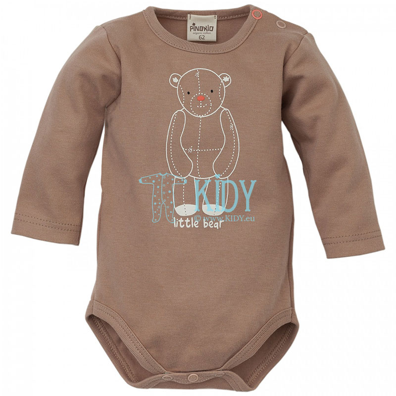 Brown LITTLE BEAR bodysuit