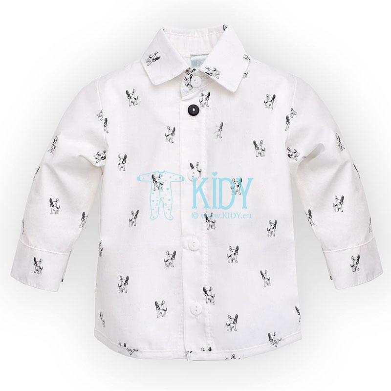 Balti marškinėliai PRINCE