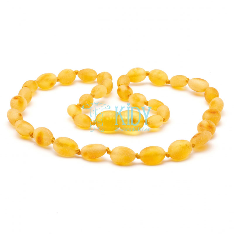 Amber HONEY teething necklace (Baltic Amber)