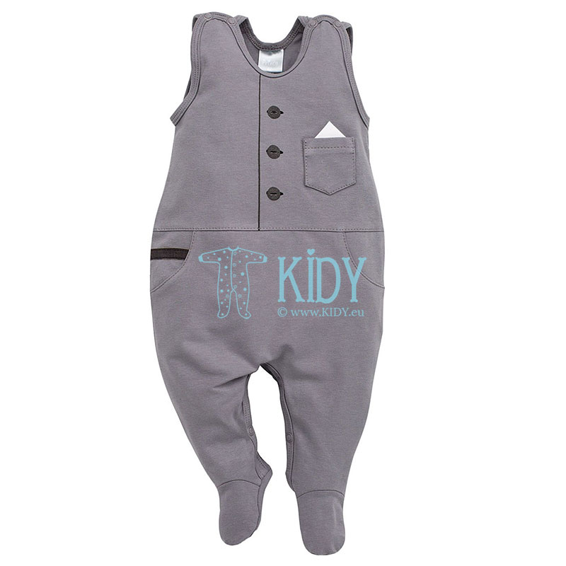 Grey PRINCE dungaree