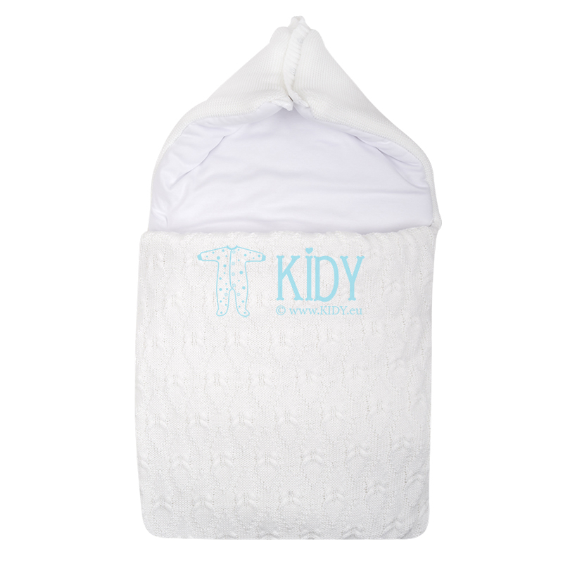 White warmed ARTEX swaddle wrap