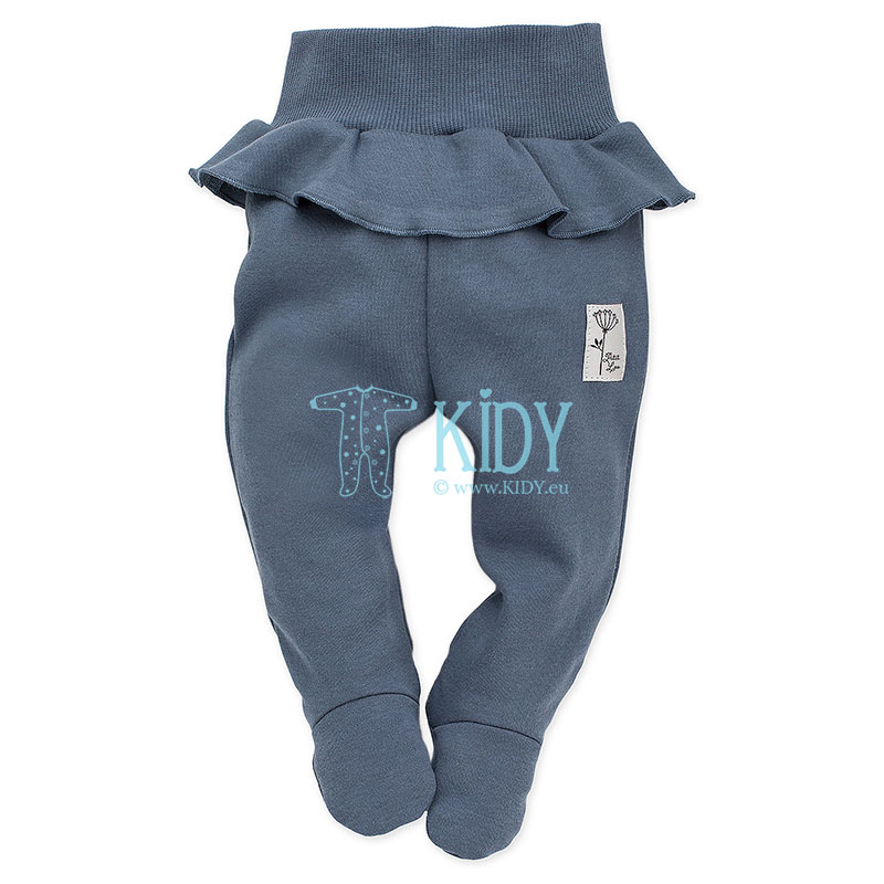 PETIT LOU footed pants