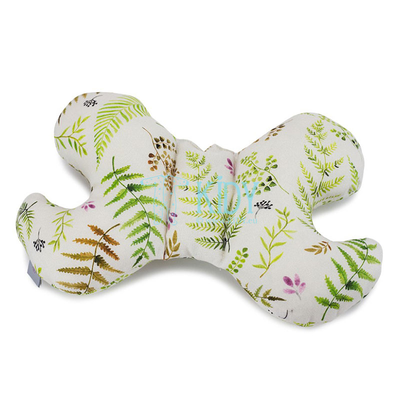 Green bamboo Paprocie butterfly pillow
