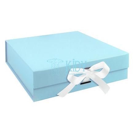 Žydra dovanų dėžutė