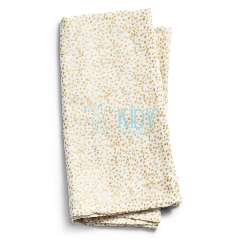Bamboo muslin GOLD SHIMMER blanket