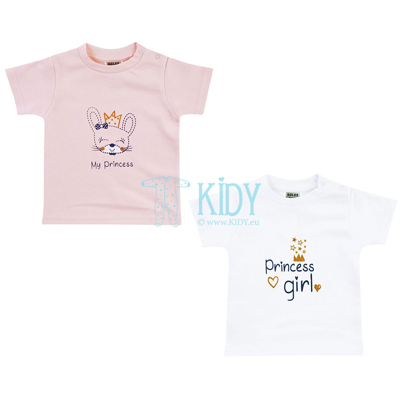 2pcs MY PRINCESS T-shirt set