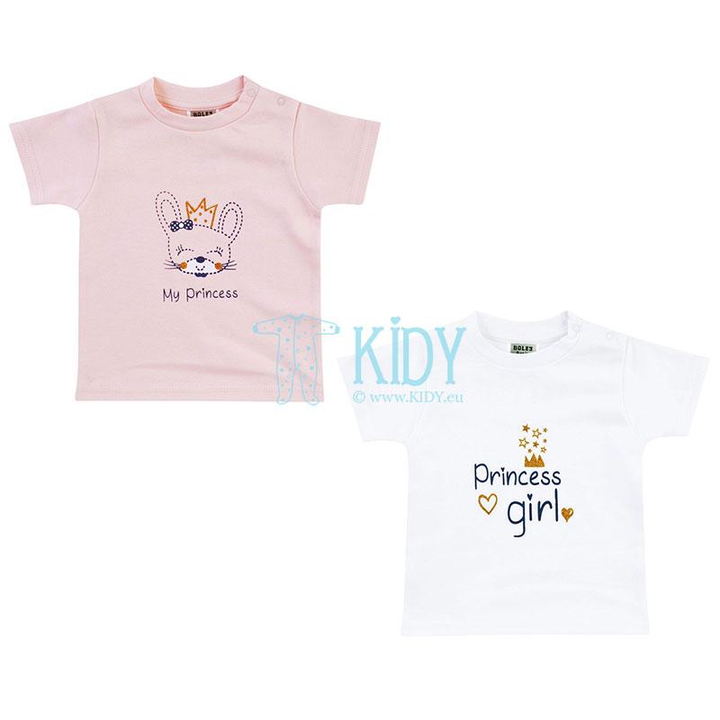 Komplektas MY PRINCESS: 2 marškinėliai
