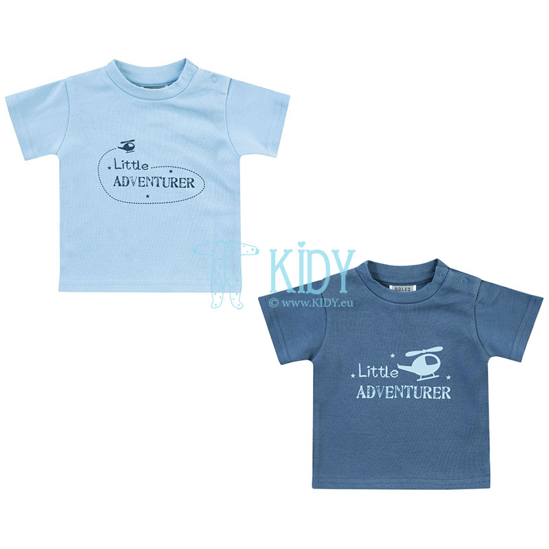 2pcs LITTLE ADVENTURER T-shirt set