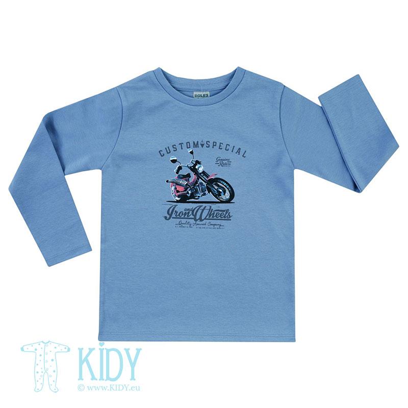 Mėlyni marškinėliai CUSTOM SPECIAL