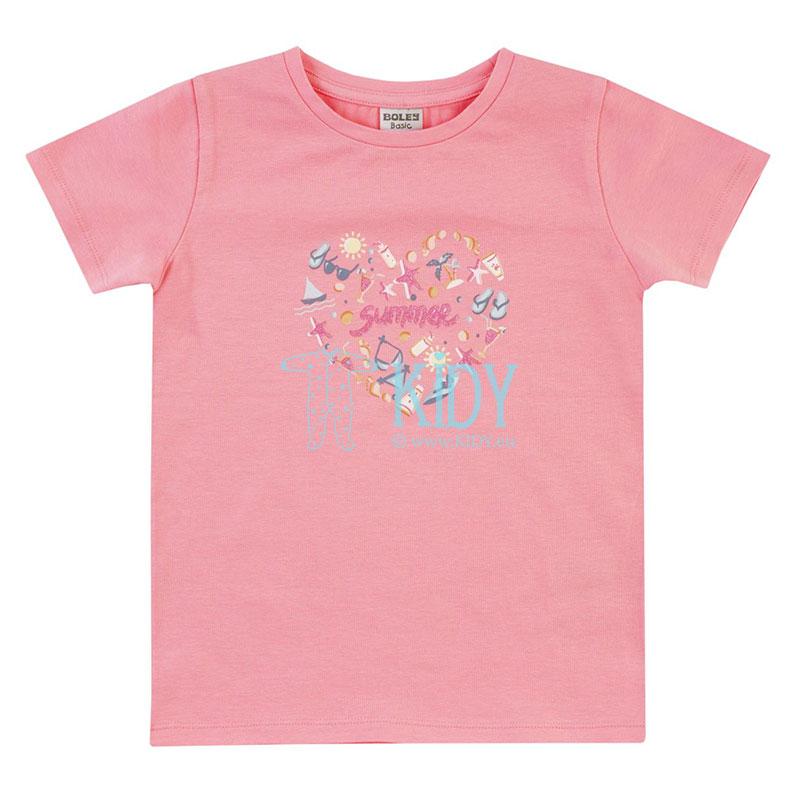 Rožini marškinėliai SUMMER
