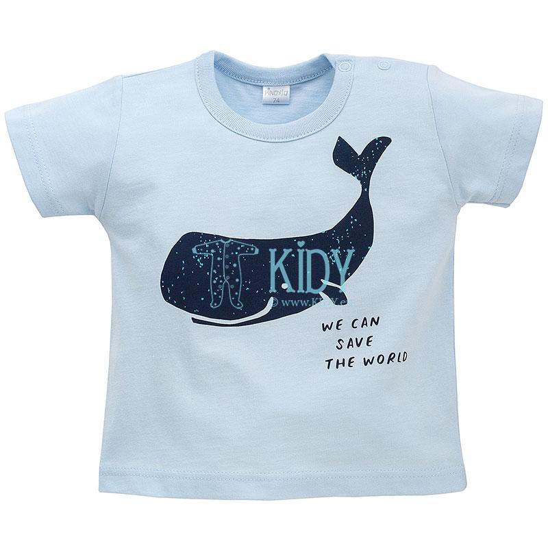 Žydri marškinėliai OCEAN DREAM