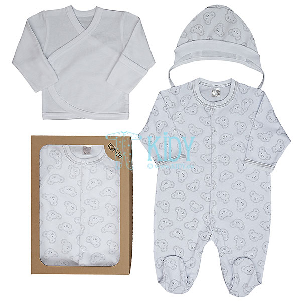 3 pcs basic KOALA set for newborns