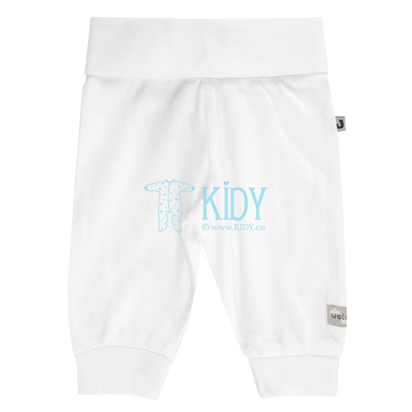 White LAMA pants