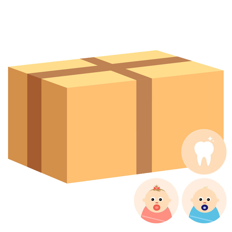 KIDY BABY BOX ECO 'My First Teeth'