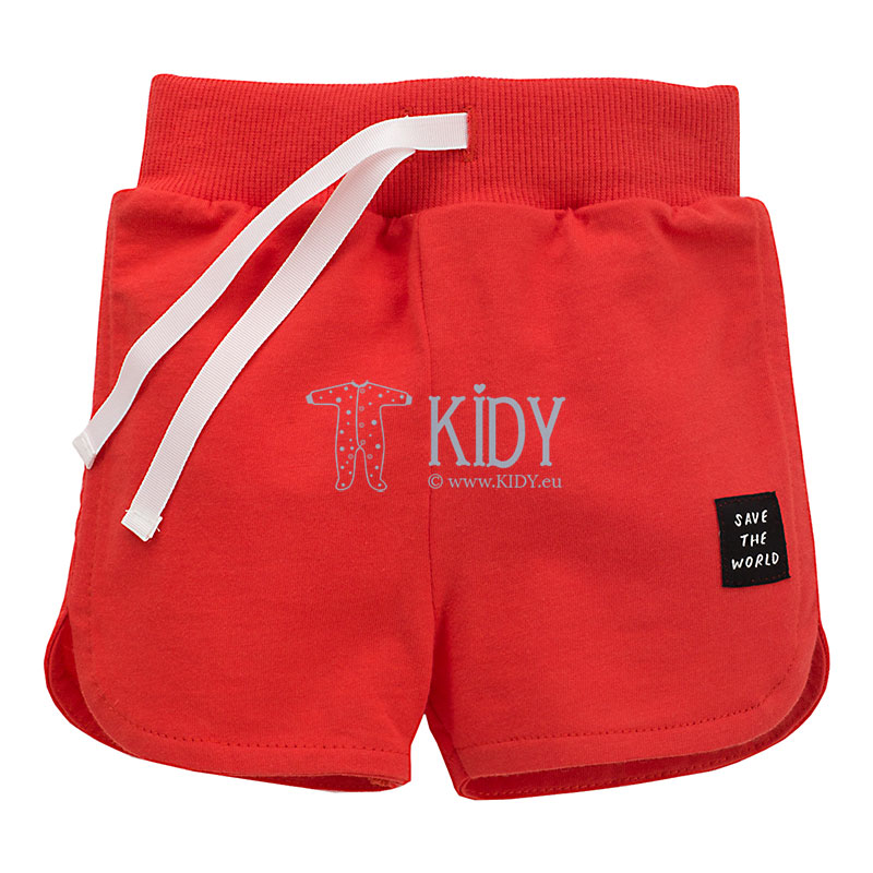 Red OCEAN DREAM shorts