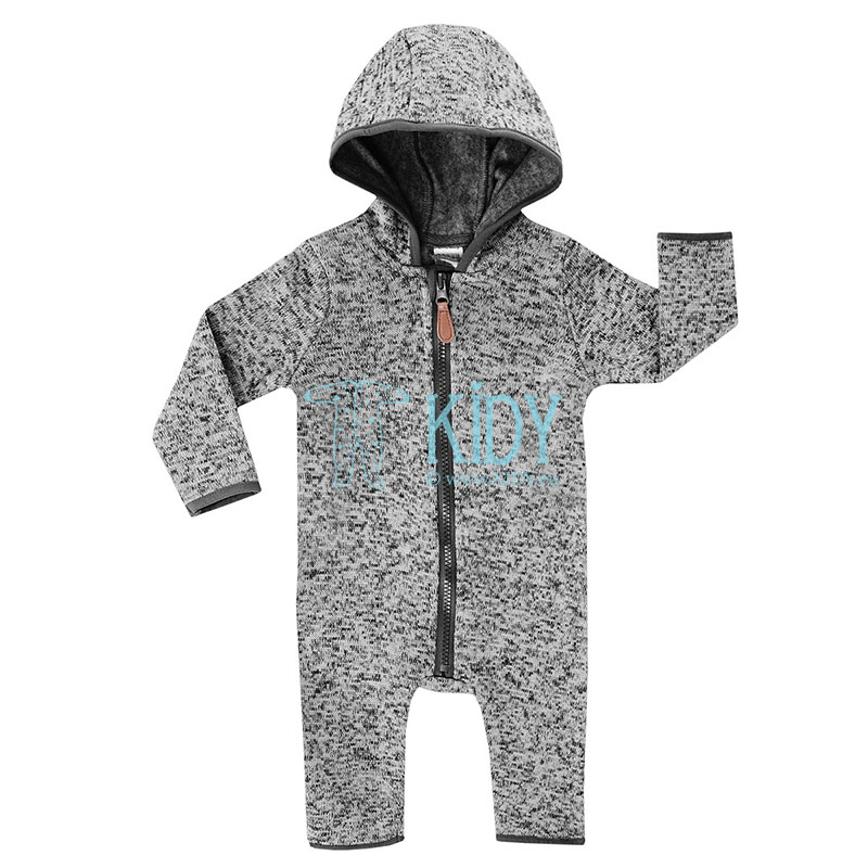 Grey fleece OUTDOOR overall