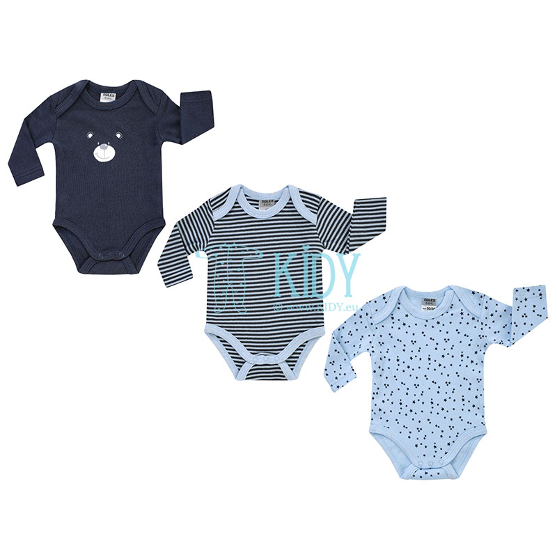 3pcs BEAR bodysuit pack