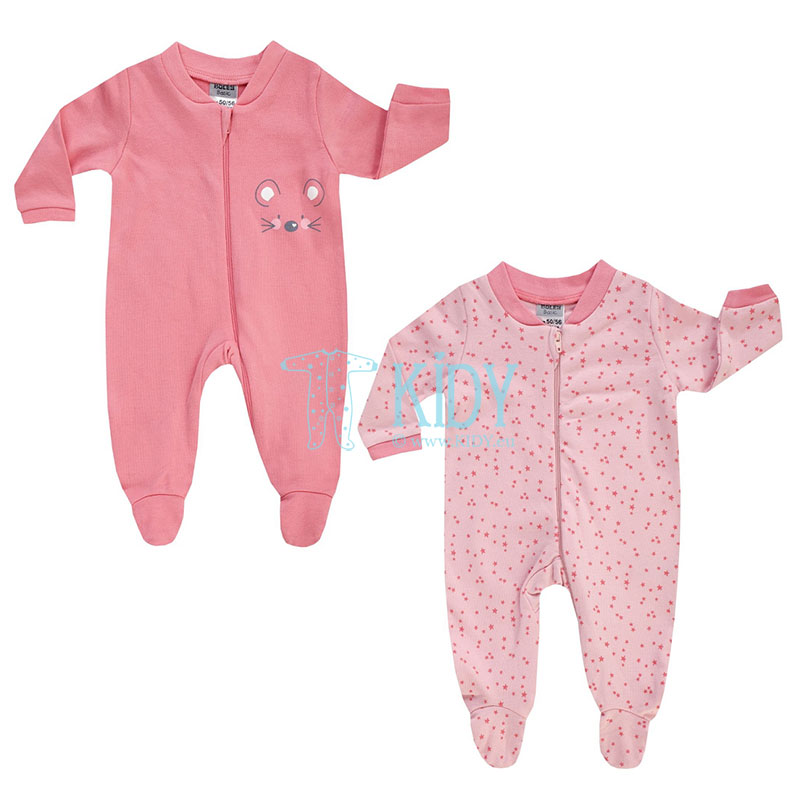 2 pcs MOUSE sleepsuit pack