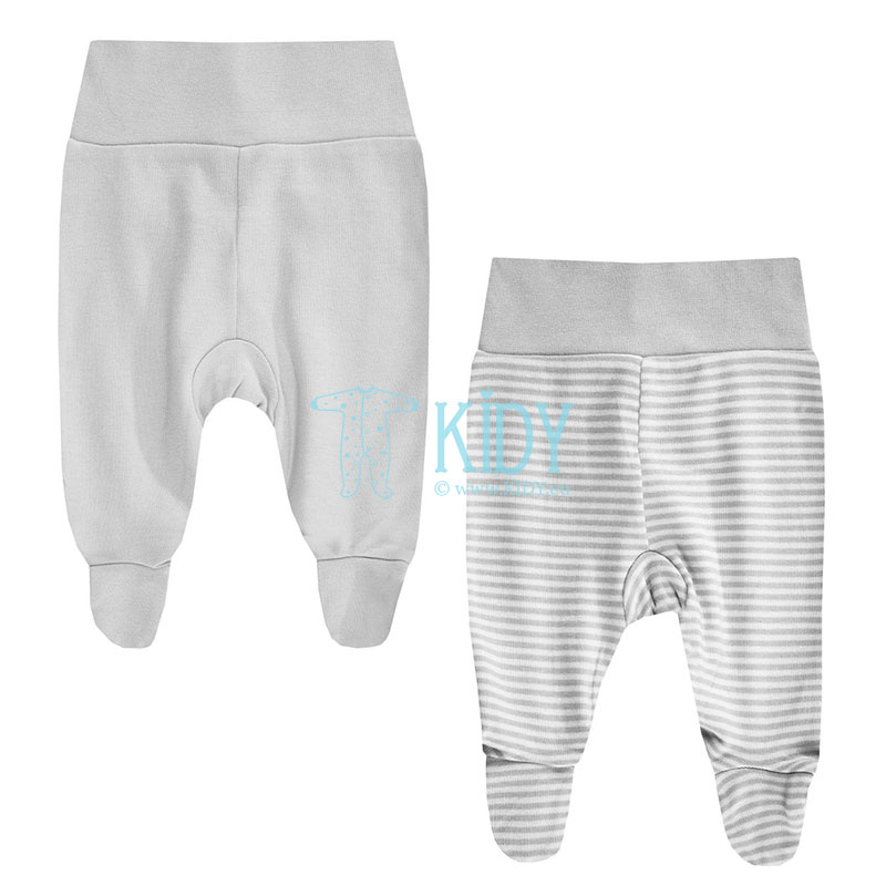 2pcs KOALA footed pants set