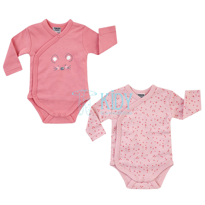 2pcs MOUSE wrap over bodysuit pack