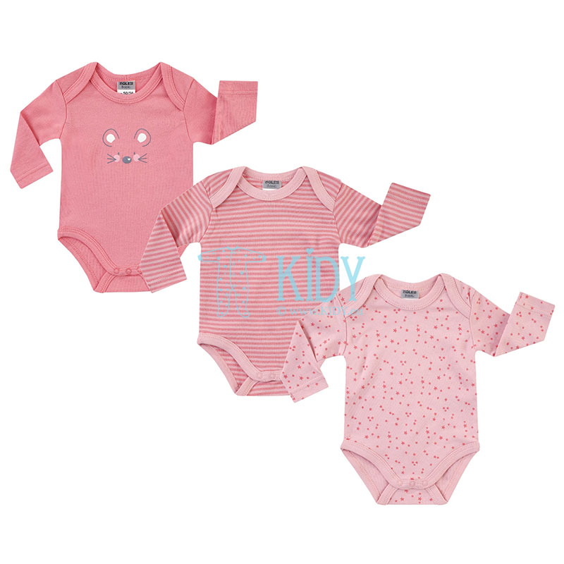 3pcs MOUSE bodysuit pack